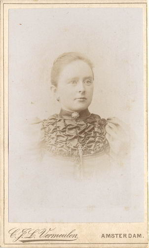 Koudijs - vd Berg Jannetje 1866-67 19__ Portret 02
