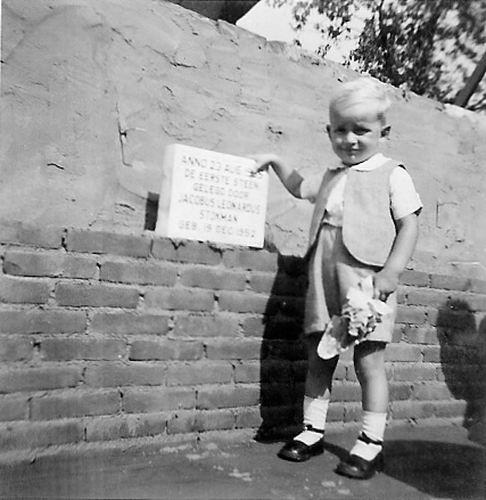 Kromme Spieringweg W 0355 1955 1e Steen Stal bij Kooiboerderij