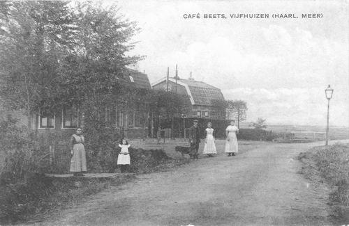 Kromme Spieringweg W 0489 1920 Cafe Beets