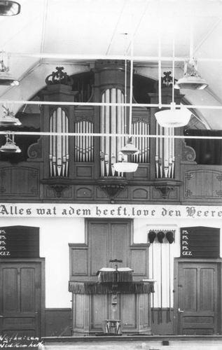 Vijfhuizerweg Z 0512 1960 Geref Kerk Orgel