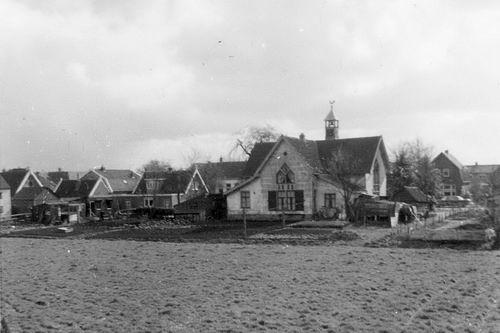 Kromme Spieringweg W 0515 1960 NH Kerk 05 Achterzijde