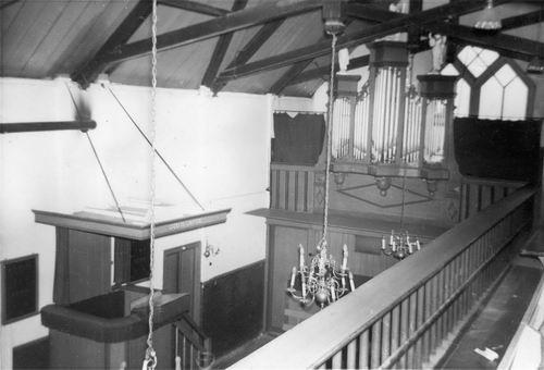 Kromme Spieringweg W 0515 1961 NH Kerk Interieur 02