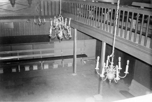 Kromme Spieringweg W 0515 1961 NH Kerk Interieur 04