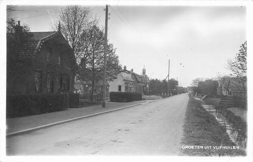 Kromme Spieringweg W 0535-515 1935 Bakker Dijkzeul