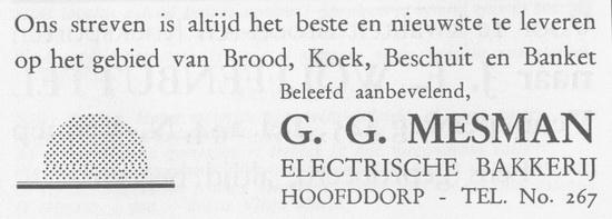 Kruislaan 0013 1939 Advertentie Bakker Mesman