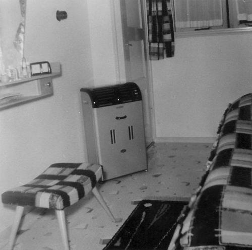 Kruislaan Z 0004 1954-58 Woonbus bij Reinders - Slaapkamer