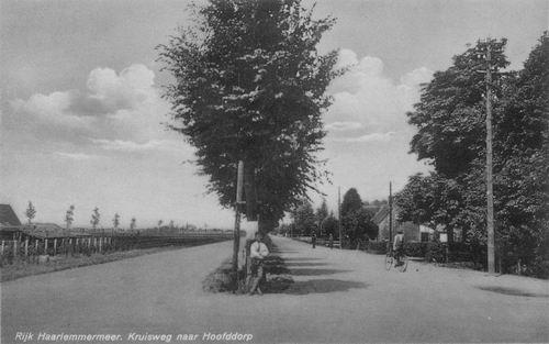 Kruisweg N 030_ 1942 kruising Aalsmeerderweg