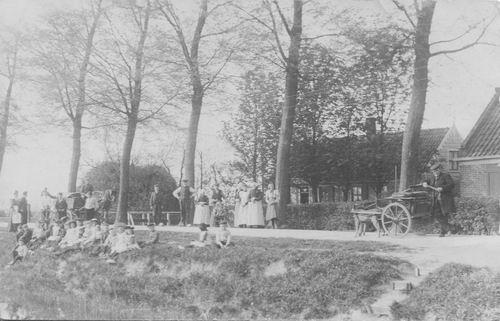 Kruisweg N 0389 1910 Fotokaart