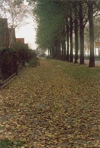 Kruisweg N 073_ 1990 Zicht op Martelaarsgracht 02