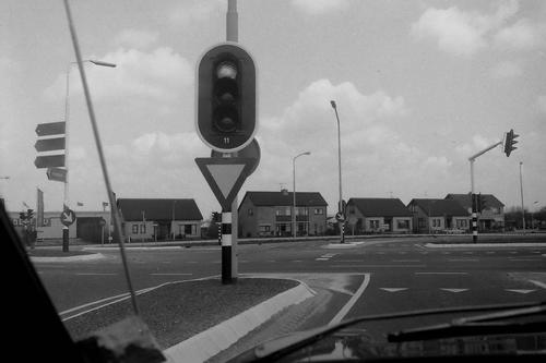 Kruisweg N 0780+ 1979  Nieuwbouw Martelaarsgracht