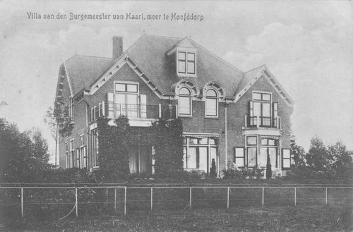Kruisweg N 0883 1917 Burgemeestervilla
