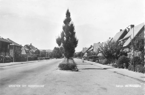 Kruisweg N 0893 Zicht vanaf O 1963
