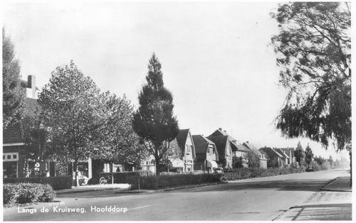 Kruisweg N 0965 1954 van Deddens naar Oosten
