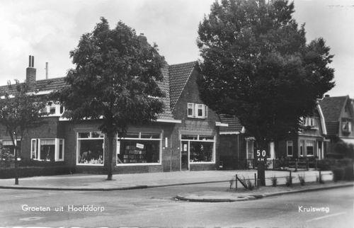 Kruisweg N 0965 1959 van Deddens naar Oosten
