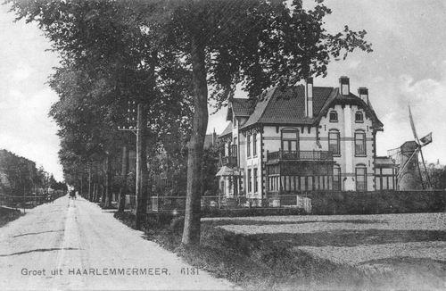 Kruisweg N 0975 1911 Villa v Mansum en Eersteling naar N