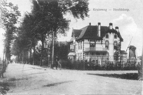 Kruisweg N 0975 1914 Villa v Mansum en Eersteling naar Z