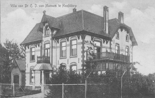 Kruisweg N 0975 1915 Villa v Mansum