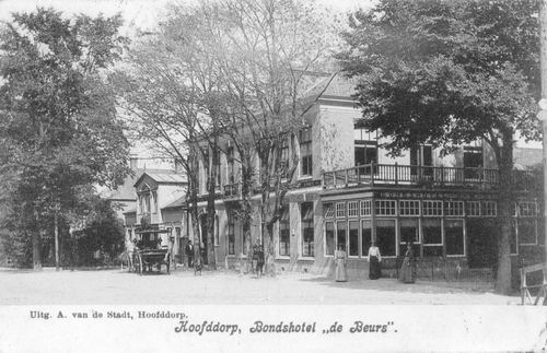 Kruisweg N 1007 1906 Beurs
