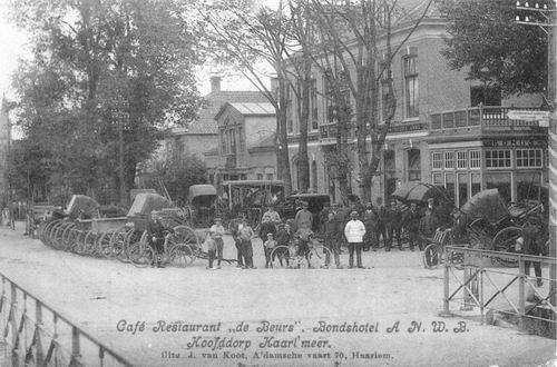 Kruisweg N 1007 1907 Beurs
