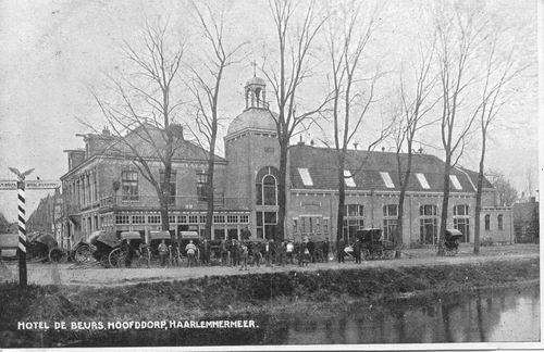 Kruisweg N 1007 1915 Beurs Hoofdwegzijde