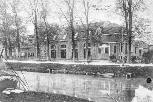 Kruisweg N 1007 1919 Beurs Toren 02