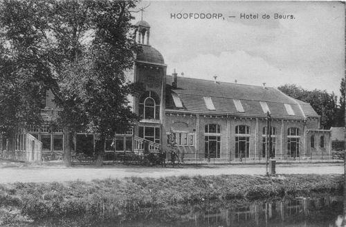 Kruisweg N 1007 1922 Beurs Toren