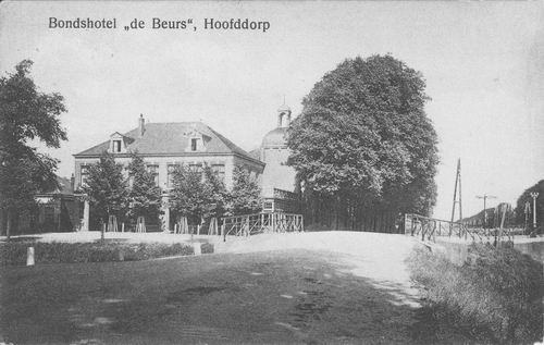 Kruisweg N 1007 1929 Beurs Toren