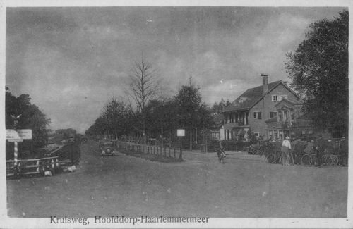 Kruisweg N 1009-1013 19__ Venbert en Kruistochtplantsoen