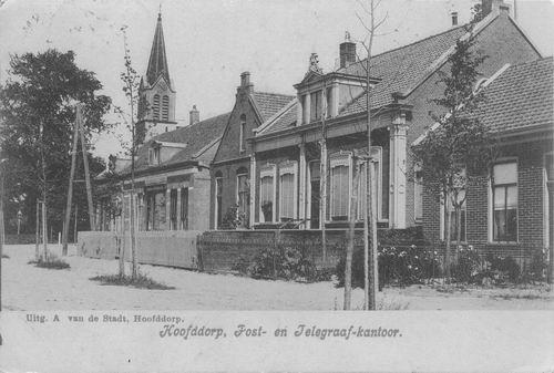 Kruisweg N 1053-1069 1909 Gezicht naar RK Kerk