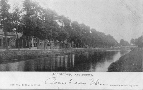 Kruisweg N 1053 ev 1901 met brede Kruistocht