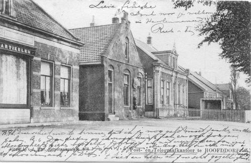 Kruisweg N 1055 1905 of eerder Oudste Postkantoor