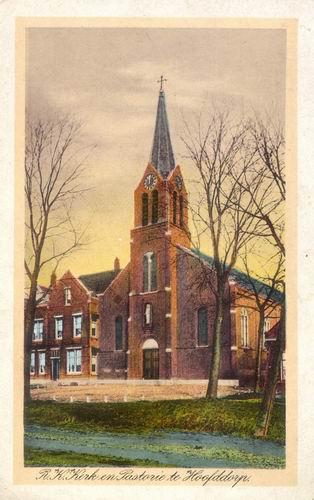 Kruisweg N 1069 0001 RK Kerk Ingekleurd