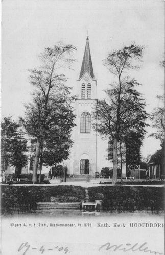 Kruisweg N 1069 1904 RK Kerk frontaal