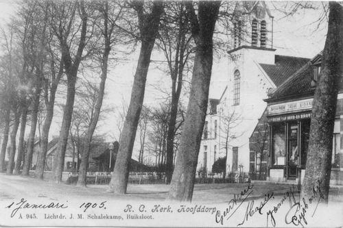 Kruisweg N 1069 1905 RK Kerk