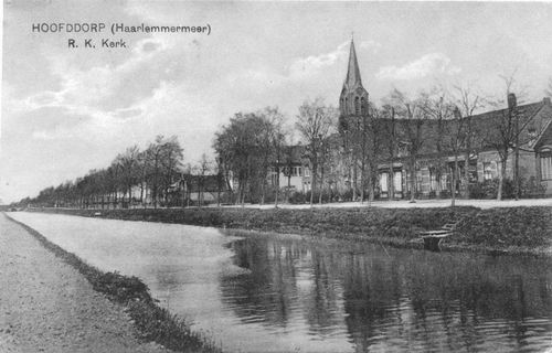 Kruisweg N 1069 1924 RK Kerk met brede Kruistocht
