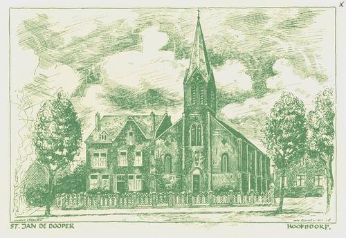 Kruisweg N 1069 1996 RK Kerk Nieuwjaarskaart