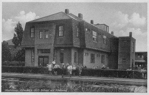Kruisweg Z 062_ 1943 Openbare School