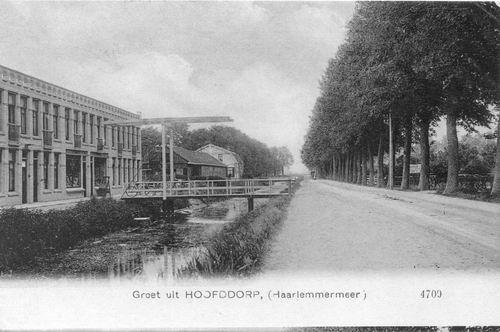 Kruisweg Z 064_ 1911 Winkels met ophaalbrug
