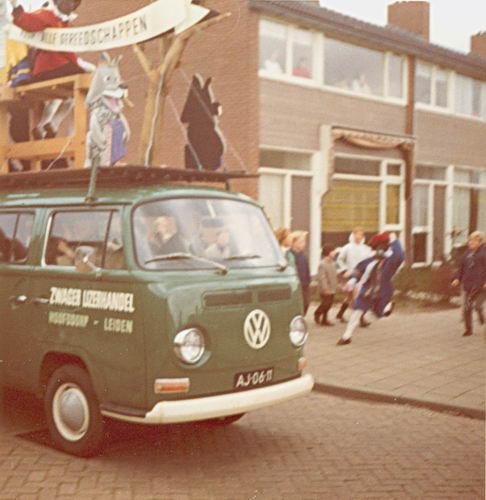Watergraafsmeerstraat 0000 1969 Intocht Sinterklaas 01