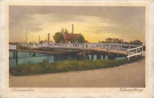 Leimuiderdijk 037_ Oude Brug Leimuiden 1926
