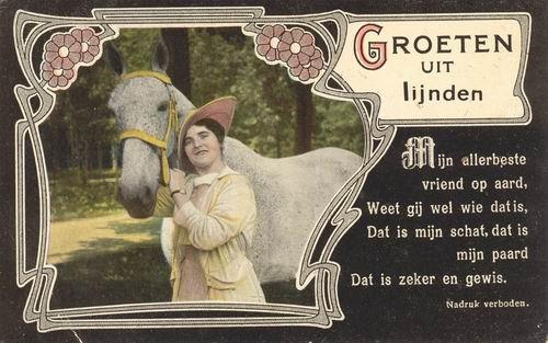 Lijnden 1919 Groeten uit