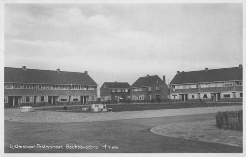 Lijsterstraat 1937 hoek Eksterstraat
