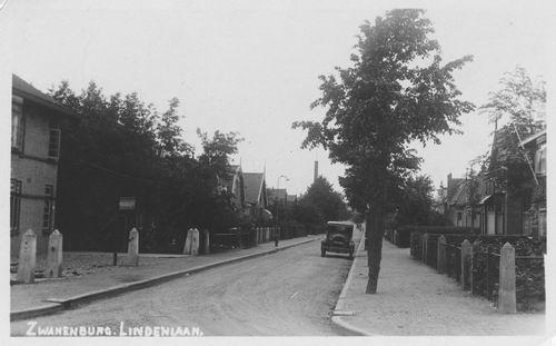 Lindenlaan 1935 Zicht naar Noorden