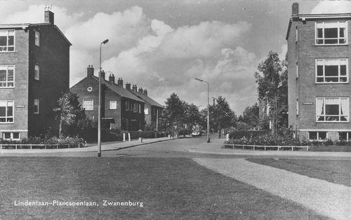 Lindenlaan 1964 Hoek Plantsoenlaan
