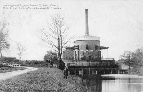 Lisserdijk 0005 1908 Leeghwater in Oorspronkelijke Staat