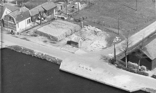 Lisserdijk 0015 195_ Luchtfoto met Weegbrug