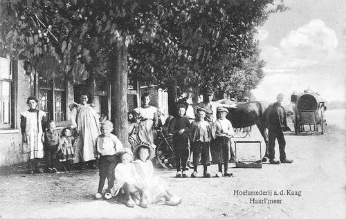 Lisserdijk 0032 1918 Hoefsmederij van den Broeck