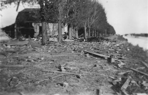 Lisserdijk 0050 1943 Huize Loogman ea Gebombardeerd 01