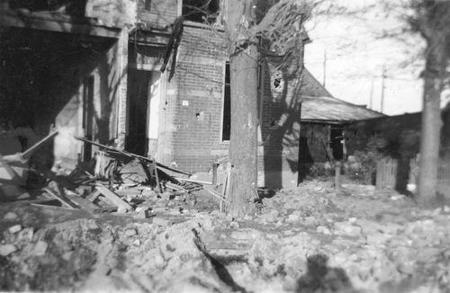 Lisserdijk 0050 1943 Huize Loogman ea Gebombardeerd 05