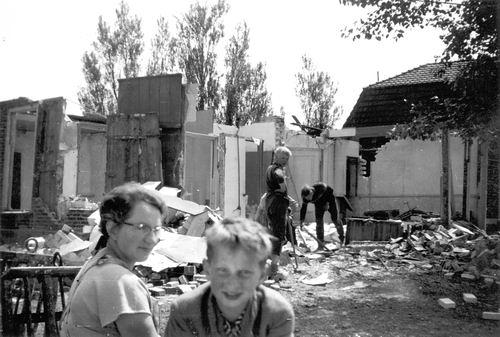Lisserdijk 0057 1961 Sloop en Nieuwbouw Huize de Man 02
